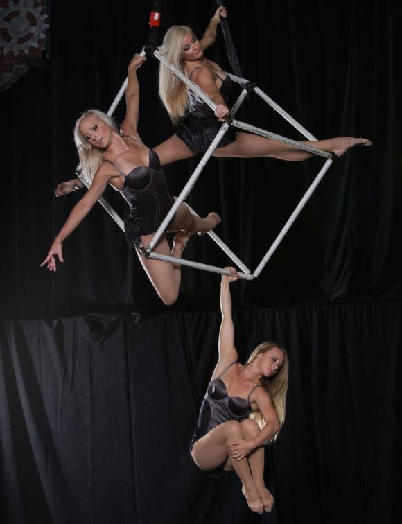 Aerial Cube Trio