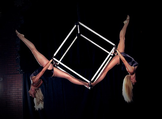 Aerial Cube Duet