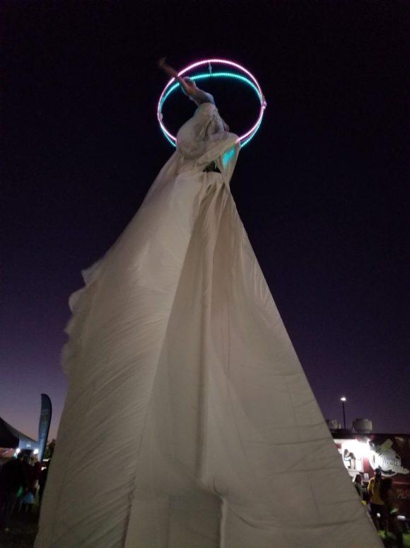 Sway Pole (LED halo)