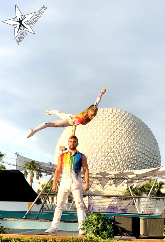 Hand Balancing Adagio (male/female)