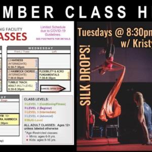 NEW CLASSES HIGHLIGHTS: Hula Hoop & Silk Drops!