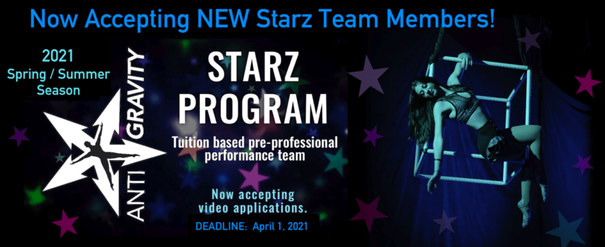 Now Accepting New Starz Team Members